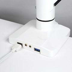 [카멜마운트] 프리미엄 2단암 거치대 PMA-2U(USB형)