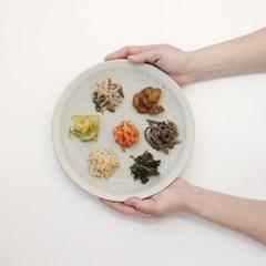 [리퍼브 할인] 산도 접시 23-30 (3color)
