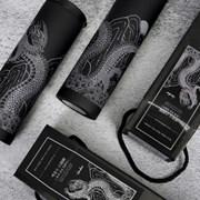 [VENHO] 백룡도 흑색 무광 진공 텀블러 500ml