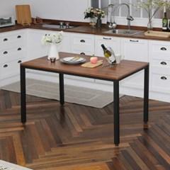 [리코베로] 카디스 다용도 철제 식탁 테이블 1200 5컬러 마블/멀바우