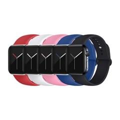 애플워치 실리콘 스포츠 밴드 스트랩 시계줄