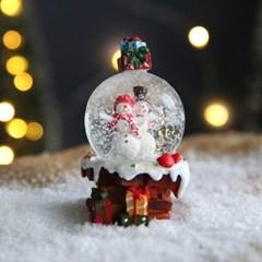 크리스마스 스노우볼 워터볼 S 선물 - 스노우맨 - 막스(MARKS