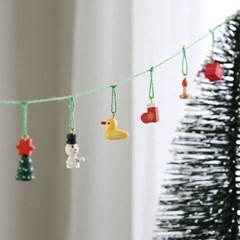 크리스마스 장식 소품나무 미니 가랜드 - 막스(MARKS)