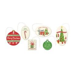 카발리니 기프트택 - 빈티지 크리스마스2
