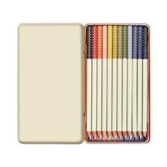 [올라카일리] 12색 틴케이스 색연필 세트_(1807258)