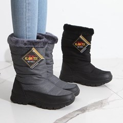 kami et muse Padding fur long boots_KM19w159