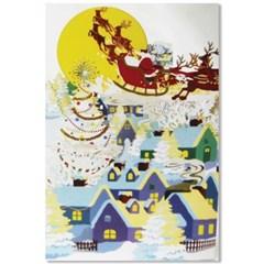 홀마크 크리스마스 입체카드-KXP2002