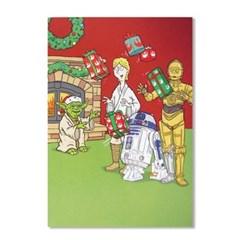 홀마크 크리스마스 카드 4종-스타워즈