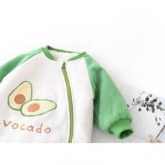 돌핀웨일 아보카도나그랑 털안감우주복(66~90cm)