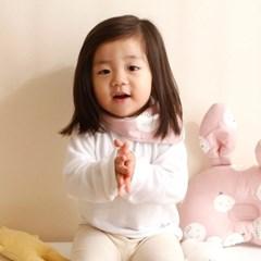 꿈두부 유아동 사계절 스카프빕 몰랑몰랑 3종 극세사 면