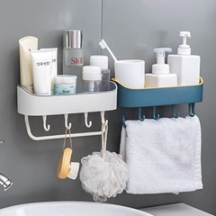 욕실 주방 공간활용 수건 후크행거 오거나이저 B30_(1119618)