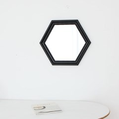 육각 528블랙 벽거울
