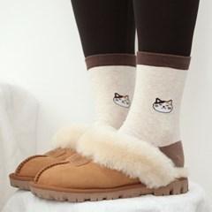 고양이 캐릭터 패션 양말