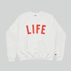 LIFE LETTER SWEATSHIRT_WHITE_(1483101)