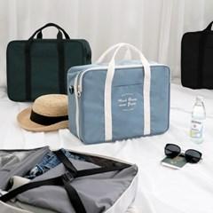 코니테일 듀얼 트렁크백 - 인디블루 (가벼운 기저귀가방 숄더백)
