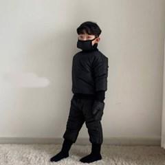 오) 스노우맨 아동 패딩 마스크