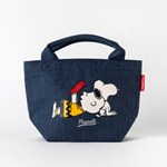 [PEANUTS] LUNCH TOTE BAG_NAVY