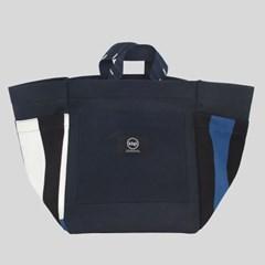 Alma Navy Picnic Bag
