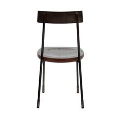 1+1본 체어 월넛 거실의자 식탁의자 카페의자