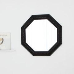 정팔각 582블랙 벽거울