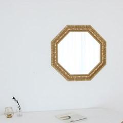 정팔각 582골드 벽거울