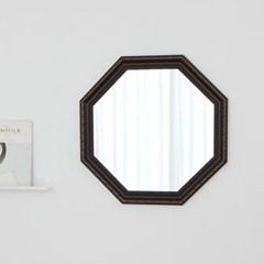 정팔각 409브라운 벽거울