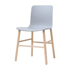 콤보체어 인테리어 디자인 카페 플라스틱 원목 의자