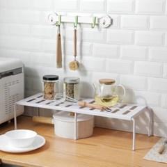 넓이조절 다용도 주방 냄비정리대