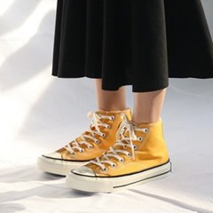 kami et muse Canvas fur high top sneakers_KM19w165
