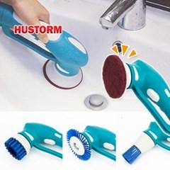 휴스톰 오토스핀 다기능 욕실 청소기 HS-300_(13089763)