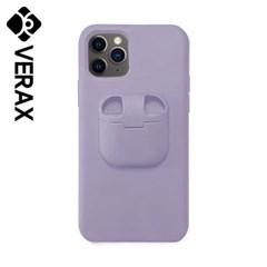 아이폰XR 컬러풀 에어팟 수납 하드 케이스 P399_(2153272)