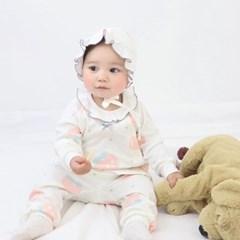 [메르베] 피치피치 신생아 아기내복/내의/유아실내복_사_(1363086)