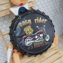 오토바이 병뚜껑 벽장식 (소)