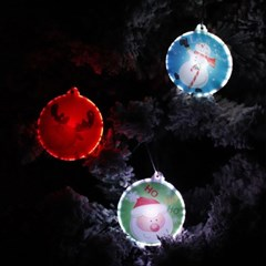 크리스마스 큐티 장식3set (수은전지포함)_(1803418)