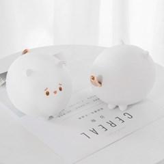 말랑 실리콘 고양이 무드등 TK-KML01 고양히잉