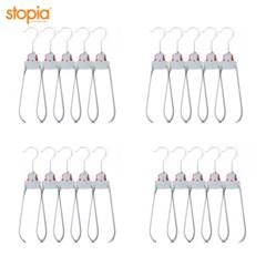 원터치 접이식 옷걸이(회전형) 20P_(10659280)