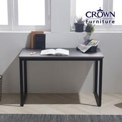 모던딘 메탈그레이 책상테이블 900 1200 1500(사이즈선택)