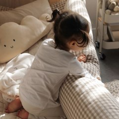 멜란체크 아기침대 버튼식 범퍼가드