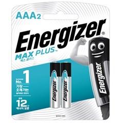 에너자이저 알카라인 맥스플러스 건전지 AA AAA 2입 (2알)