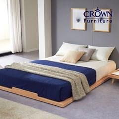 로우 저상형 침대 Q 퀸(매트리스 선택)