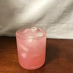홈카페 심플 유리컵