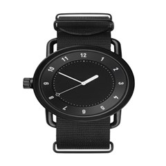 TID 티아이디 No.1 Black / Black Nylon Wristband 공용_(1244624)