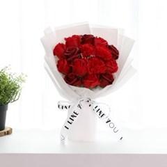 졸업꽃다발 선물 안개꽃다발 파스텔 비누꽃다발