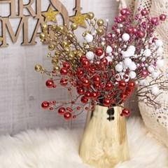 크리스마스 멀티 컬러볼 픽(4color)_(1806369)