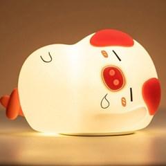 LED 무선 터치 실리콘 무드등 수면등 수유등 취침등