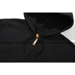 칼하트 정품 K122 미드웨이트 후드집업 블랙