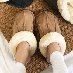 kami et muse Rich fur slippers_KM19w172