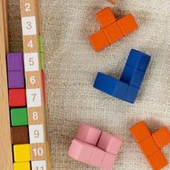어린이 두뇌 창의력 개발 초등 교구 IQ 아이큐 타워_(1365418)