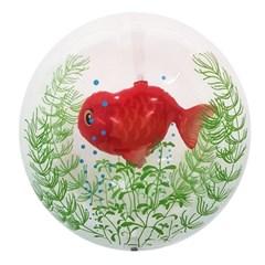 슈퍼쉐입 투명 이중 물고기 풍선 모음전