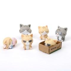 아리랑은 고양이들 랜덤피규어 시즌1 (낱개랜덤)_(1913984)